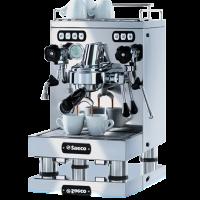 Классическая рожковая кофемашина Saeco SE-50
